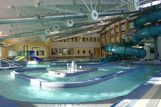 ... Indoor Pool With Slide