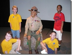 7-27-09 Boys with Baden-Powell (r)