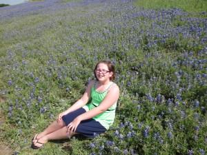 4-19-14 Crisana sits pretty