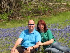 4-19-14 Snuggling in the bluebonnets (2)