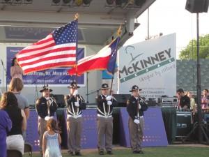 4-25-14 Opening ceremonies