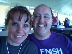 4-25-14 Survivor Tent selfie