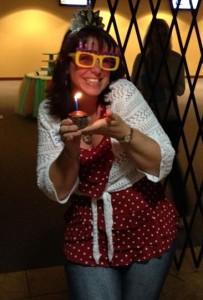 4-4-14 Birthday cupcake