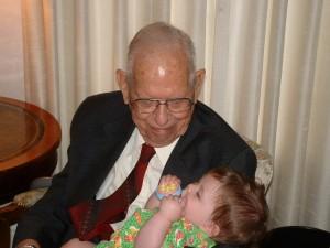 Visitation - Crisana & Grampa (3) 7-17-03